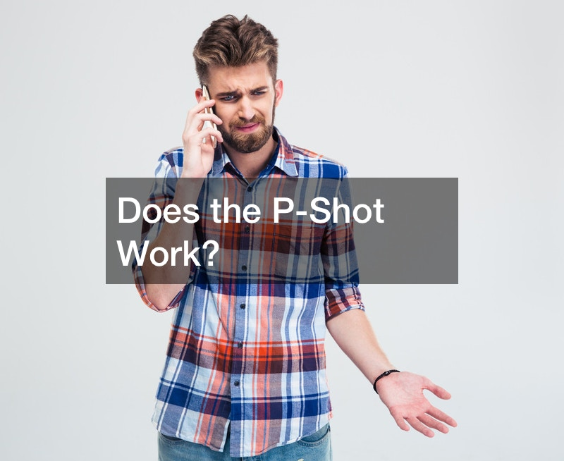 Does the P-Shot Work?
